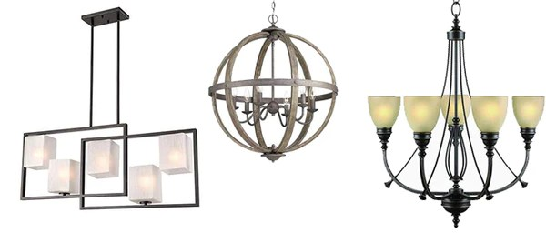 chandeliers home supply inc