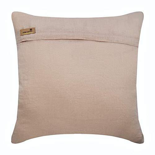 the homecentric handmade beige pillow shams pearls and jute snail sea creatures ocean beach theme pillow shams 24x24 inch 60x60 cm pillow sham
