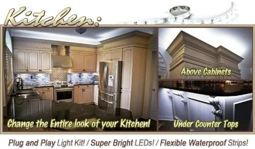 biltek 2 ft cool white kitchen valance microwave led backlight night homeloft europe