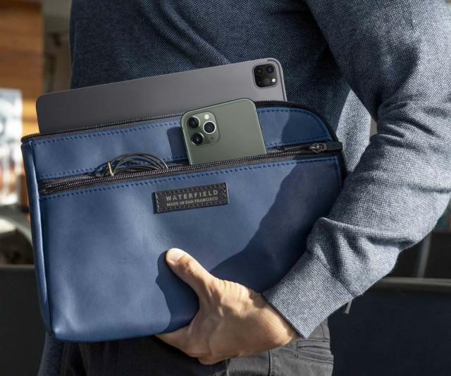 When you've shelled out all that money, you might be in the market for a custom case from Waterfield Designs in San Francisco