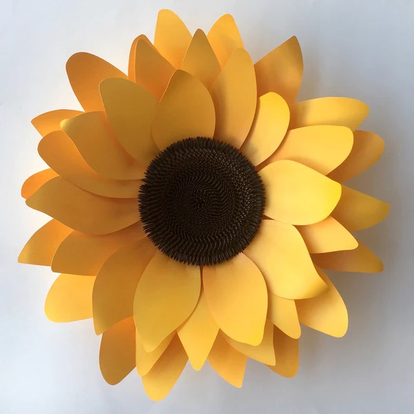 Download Sunflower DIY Templates for Silhouette or Cricut Explore ...