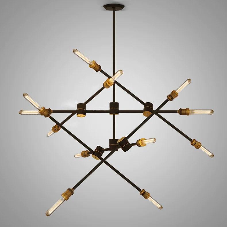 Bronze Cage Pendant Light