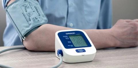 Omron M2 basic, omron kraujospūdžio matuoklis, omron spaudimo matuoklis