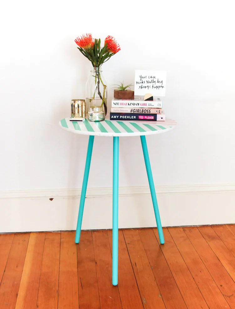 7 Unexpected Things to Stripe using Easy Stripe vinyl decals by @wallsneedlove
