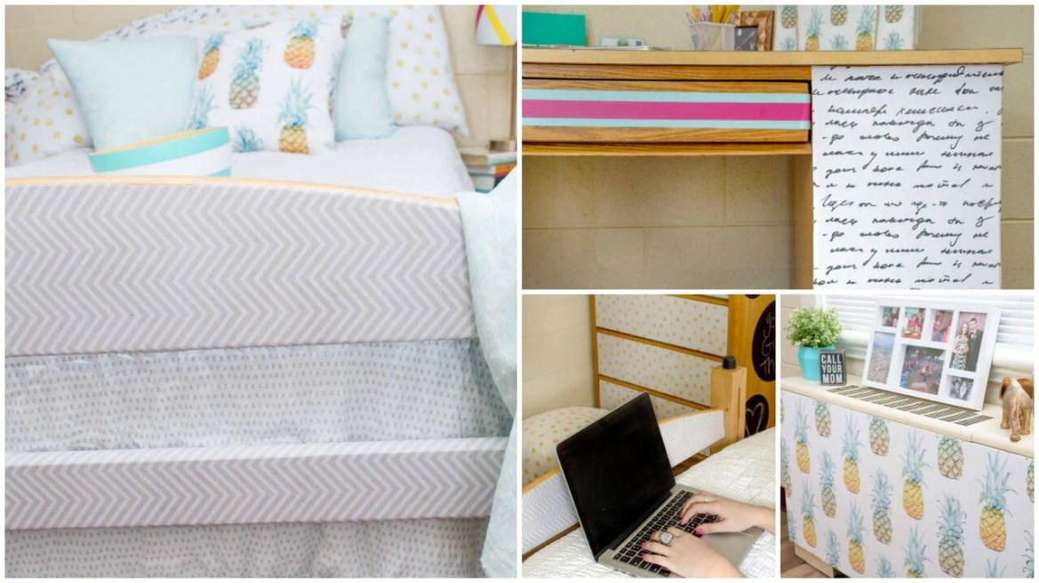 Get Easy and Affordable Dorm Ideas with our Dorm Takeover with A Little Craft In Your Day