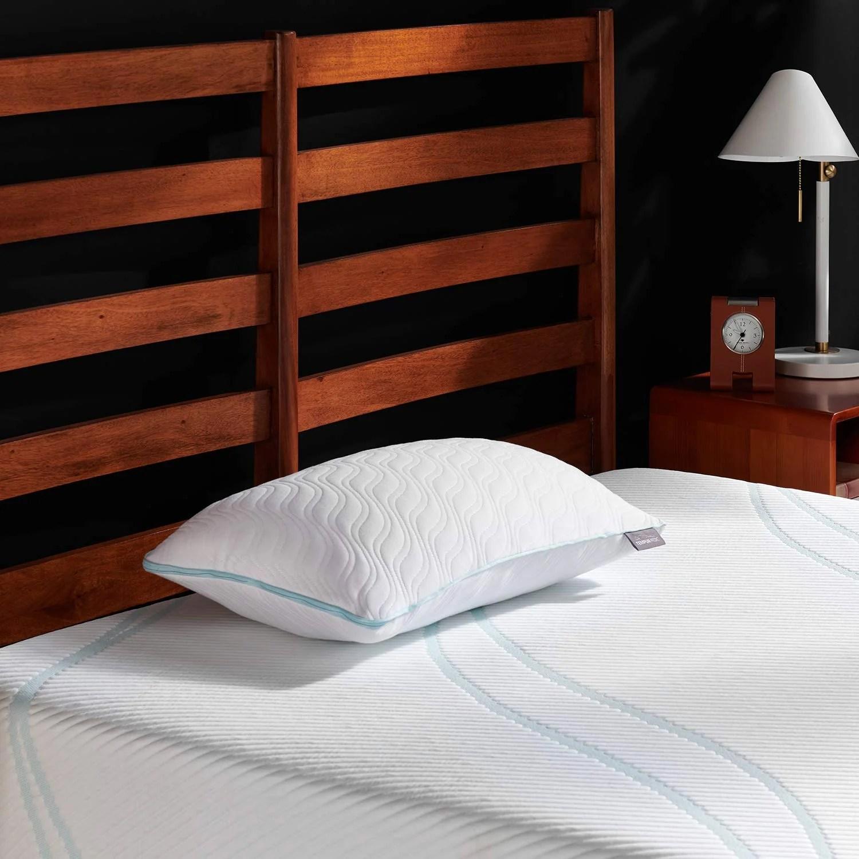 tempur pedic tempur cloud breeze dual cooling pillow king tempur cloud promid pillow queen white