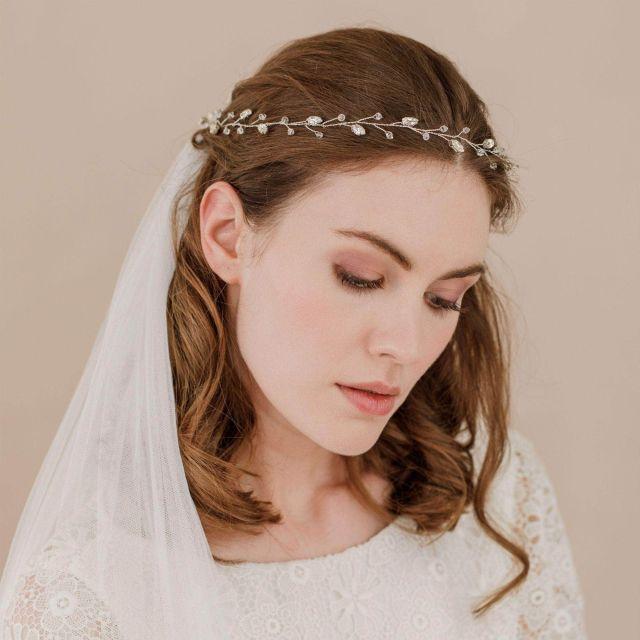 wedding hair vines | bridal hair vines | britten weddings uk