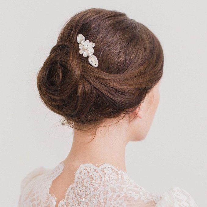wedding hair combs | bridal hair combs | britten weddings uk