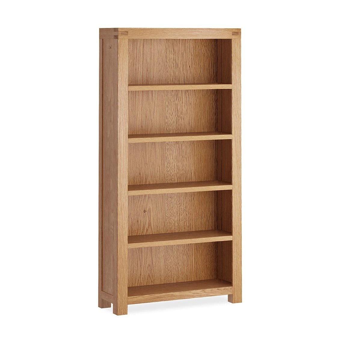 Chunky Oak Large Bookcase