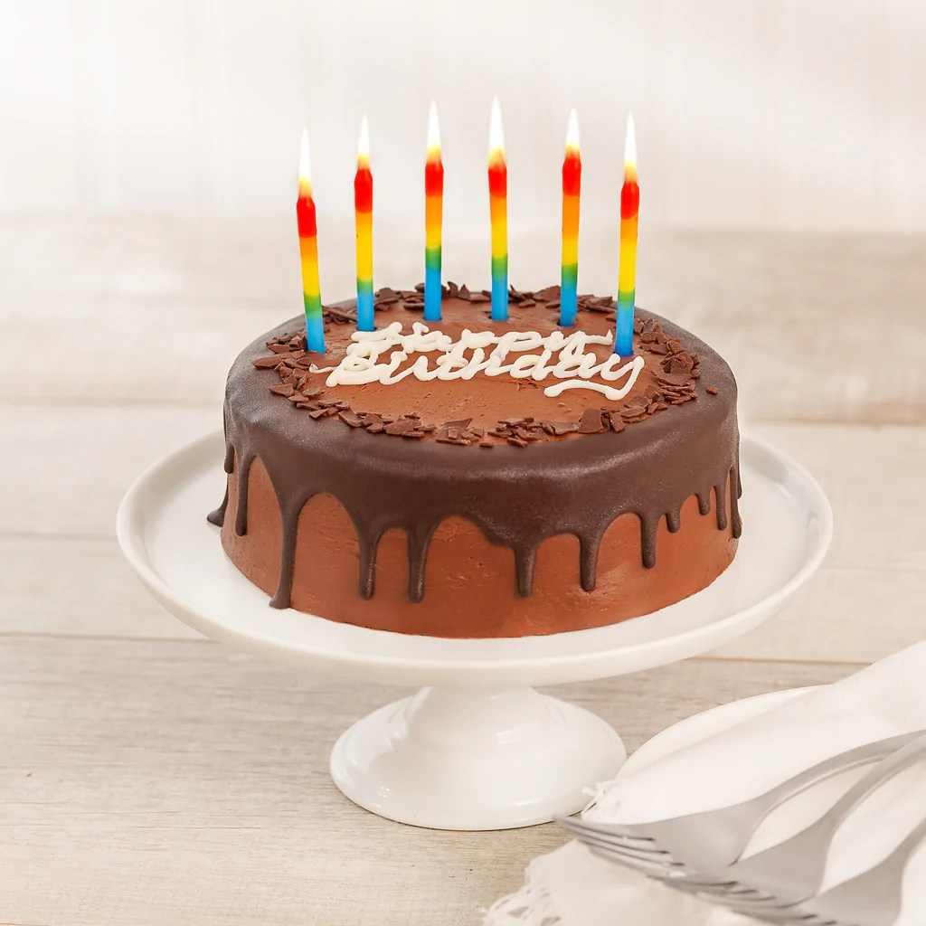 Happy Birthday Prize Winning Chocolate 2 Layer Cake We Take The Cake