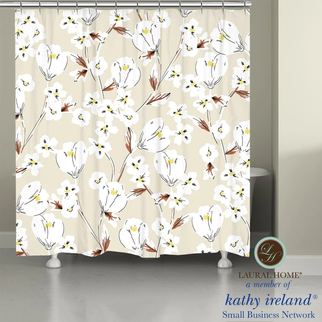 shower curtains laural home
