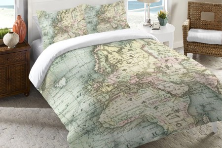 World map quilt cover path decorations pictures full path decoration doona cover set single double image is loading retro home world map australia quilt doona cover world map duvet cover from urban outfitters favething gumiabroncs Gallery