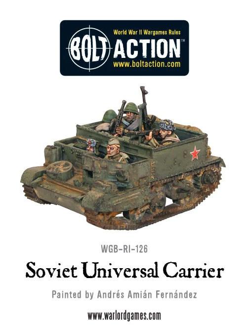 Resultado de imagen de russian universal carrier