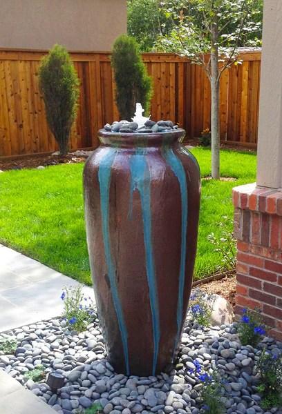 Nico Jar Outdoor Fountain Denver CO Creative Living