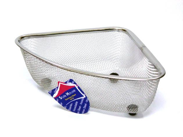 mesh corner sink strainer