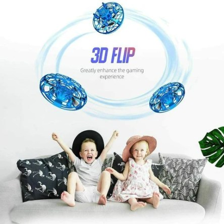Mini Drone For Kids Hand Operated UFO Flying Drone Kids Gifts
