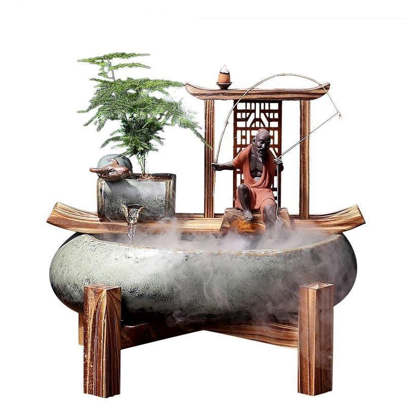 fontaine de jardin zen exterieur