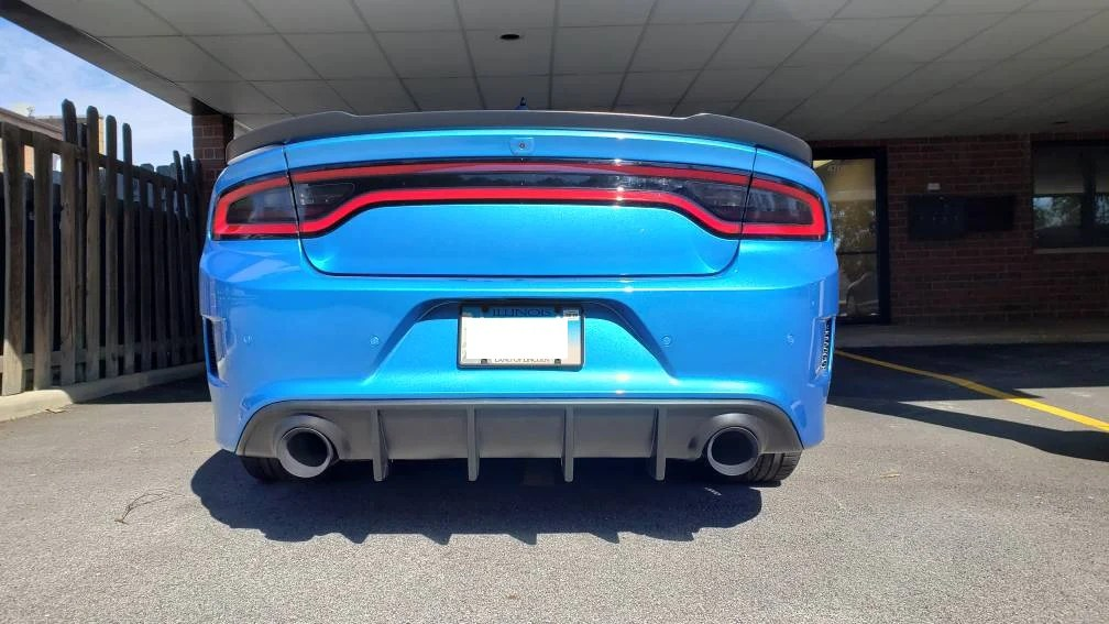 21 dodge charger 5 inch exhaust tips