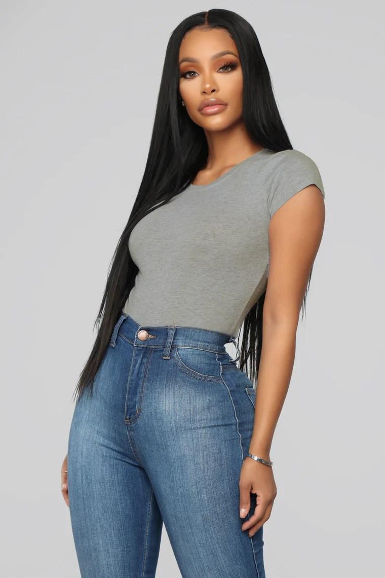 Easy Wear Plus Size Stripe Detail Top 3