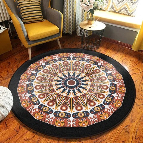 tapis mandala bouddha power