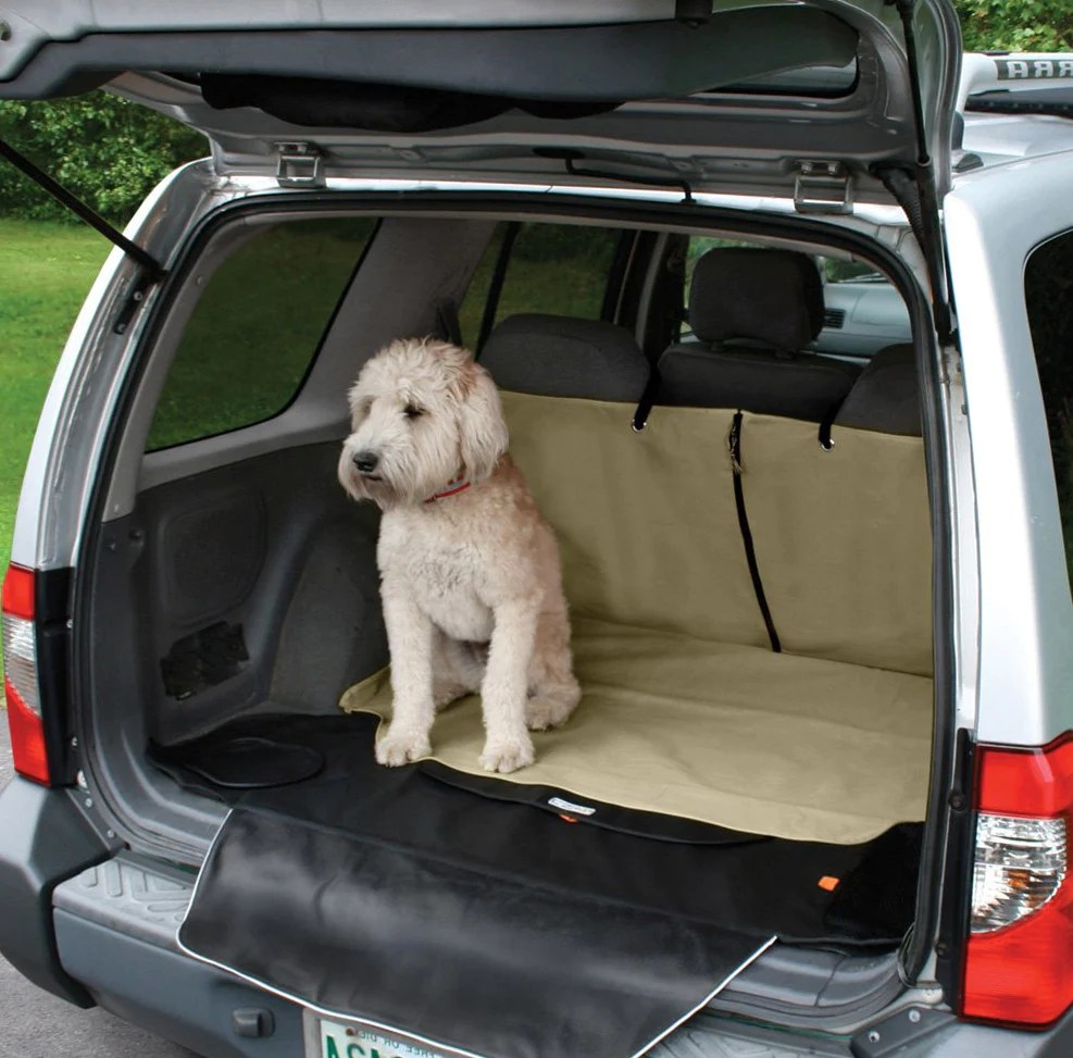 Solvit Deluxe Sta Put Bench Seat Cover For Dogs Cross