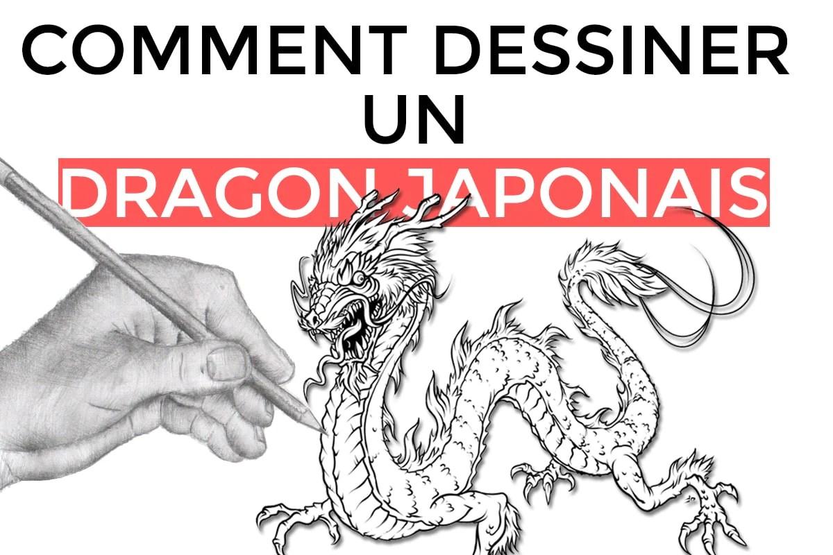 Comment Dessiner Un Dragon Japonais Sanctuaire Du Dragon