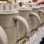 Unique Handmade Pottery Stoneware Clay In Motion