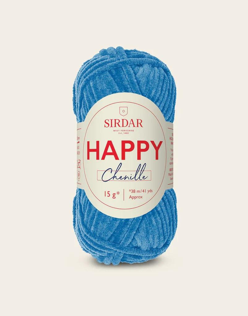 Sirdar Happy Chenille – Tiny Rabbit Hole by Angie