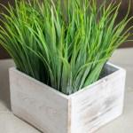 Whitewashed Wood Square Planter Box 6x6 Save On Crafts