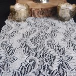 White Lace Table Runner 12 X 108 English Lace Design Save On Crafts