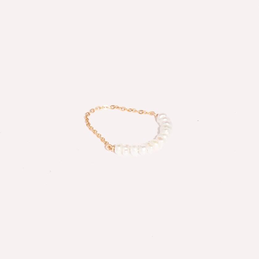 quinn pearl chain ring