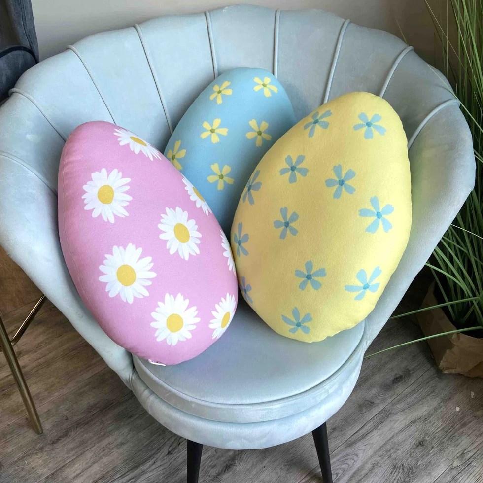 easter egg pillow easter decoration easter cushion