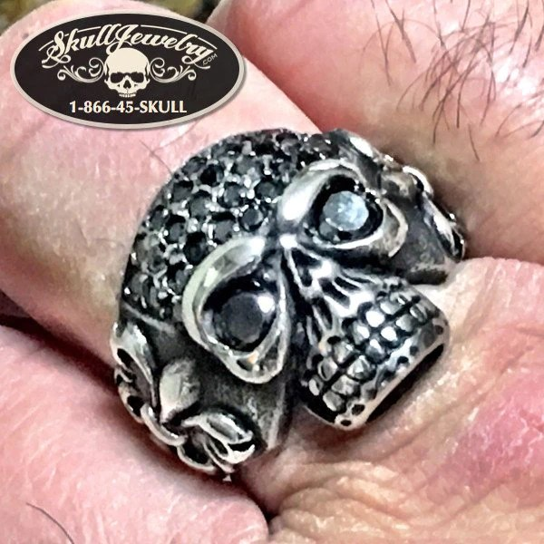 NEW Gas Monkey Skull Ring 613
