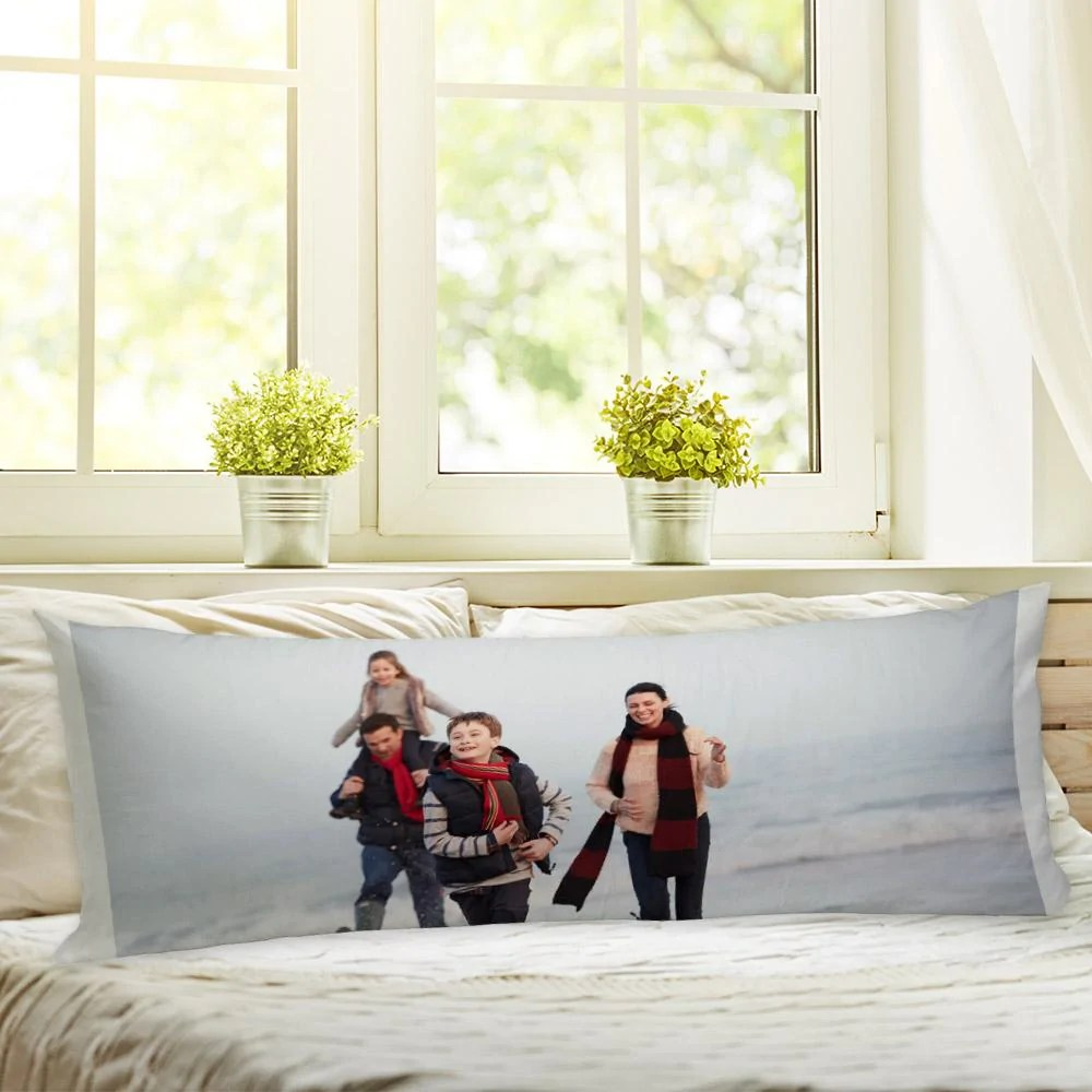 custom body pillow case of your photo create your own personalized photo pillow