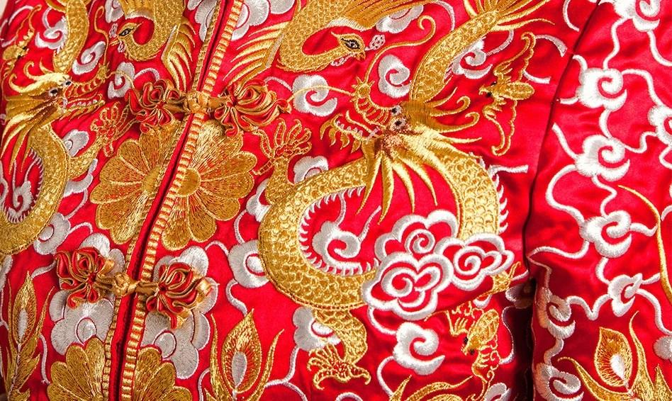 Traditional Chinese Wedding Gown Kua Qun YannyExpress