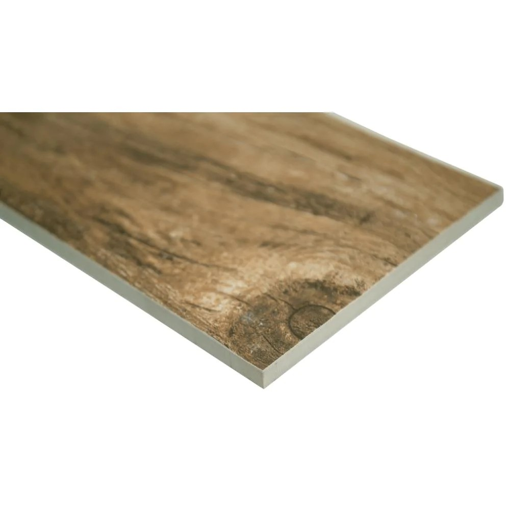 msi redwood natural 6 in x 24 in matte porcelain floor and wall tile in stock hardwarestore delivery