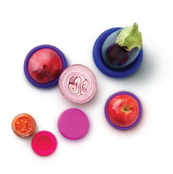Food Huggers Bright Berry - from Kitchen Gadgets and Doo-Dads on pixiespocket - holiday gift guide 2017
