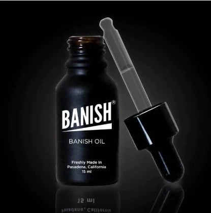 Banish oil