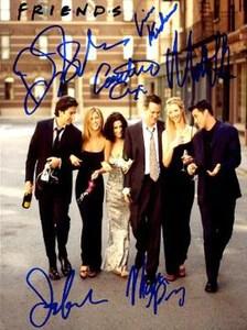 friends cast signed autographed photo poster print memorabilia