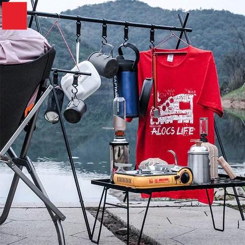 Outdoor Camping Equipment Hanging Rack