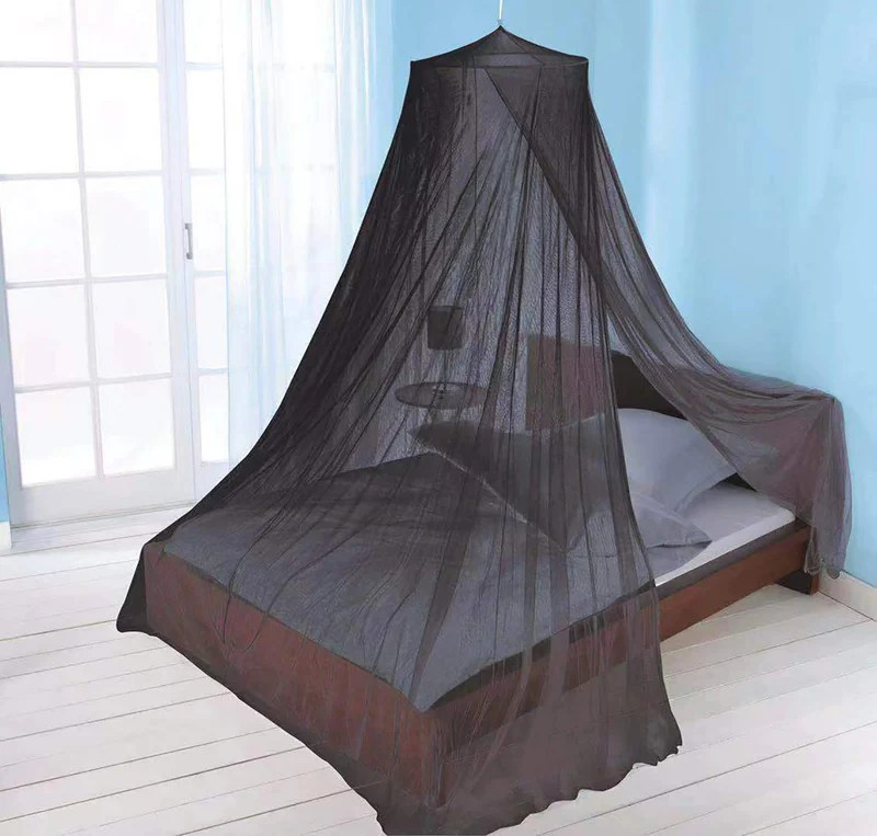 just relax elegant mosquito net bed canopy set black twin full