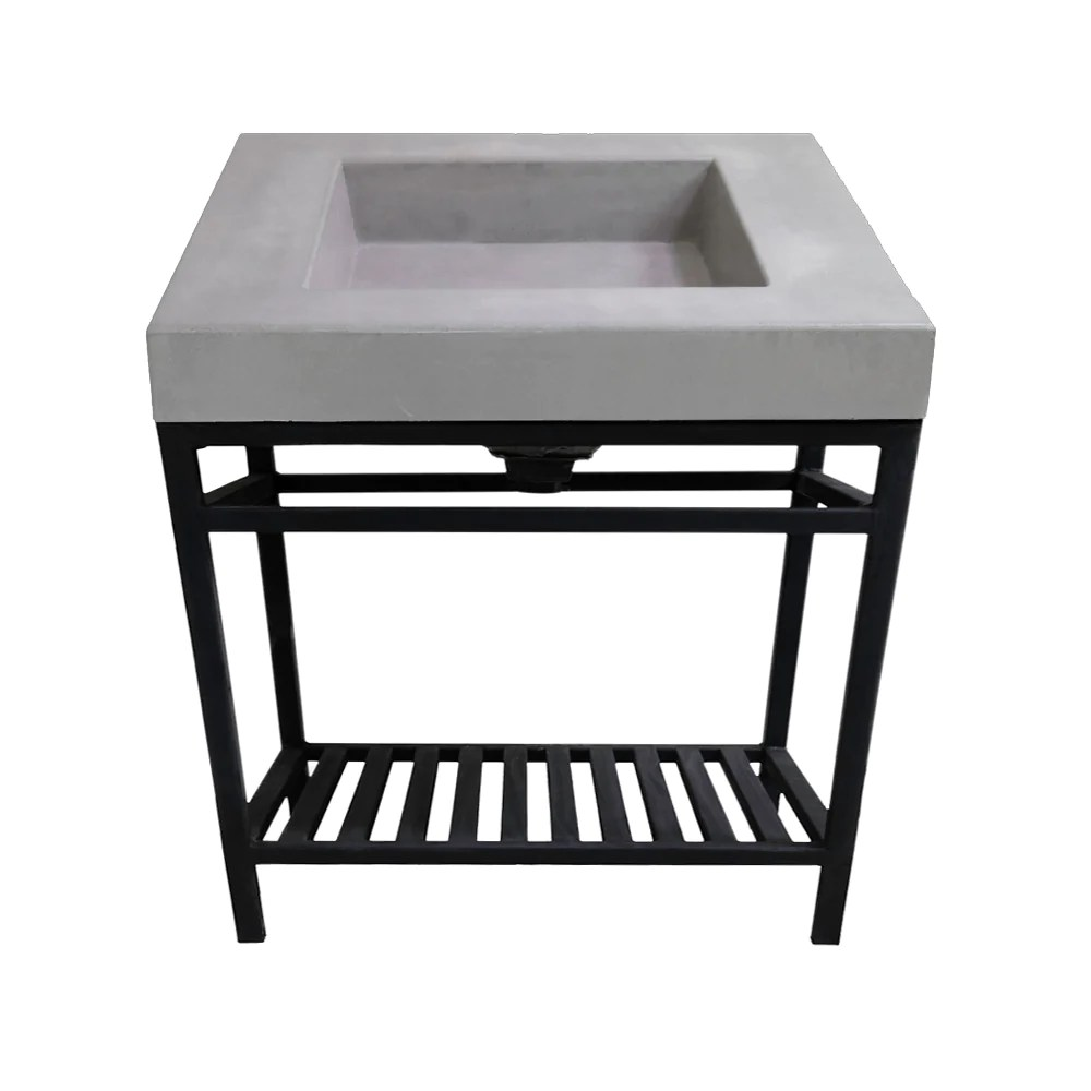 vessel sinks with base so crete