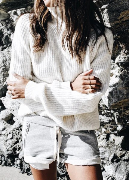 SINCERELY JULES Reims Chunky Turtleneck