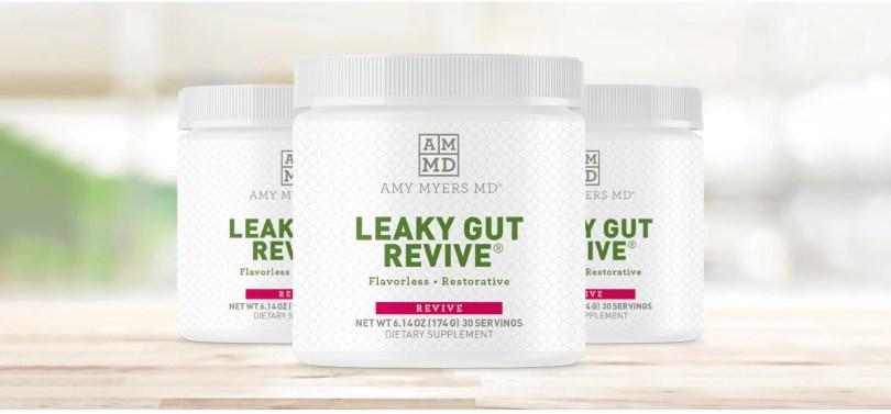 3 jars of Leaky Gut Revive