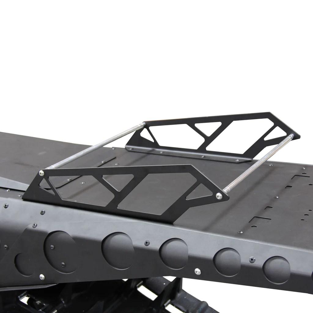 skinz universal snowmobile tunnel rack shopmsd
