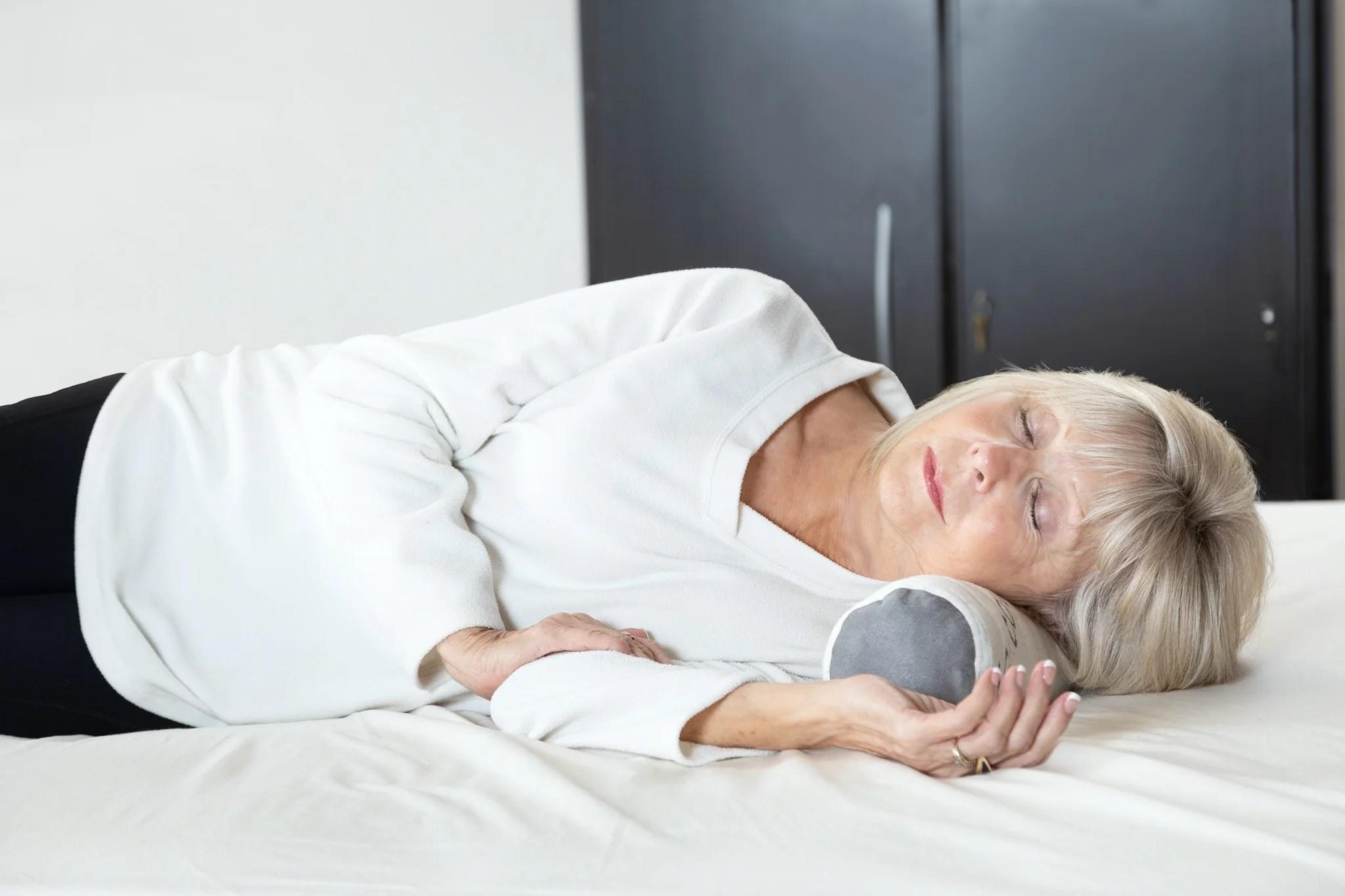 neck roll bolster pillow sleep artisan