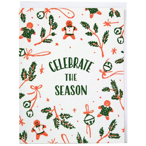 Celebrate The Season Christmas Card Christmas Cards