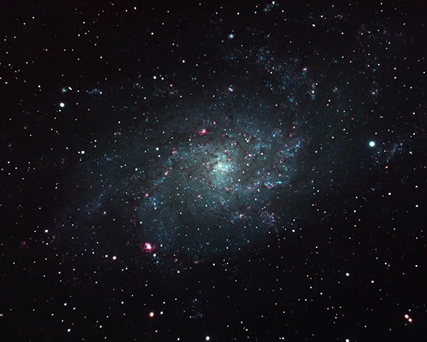 M33 taken with ZWO 294MC Pro and Night Owl Reducer