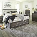 Brueban Storage Bedroom Set Adams Furniture
