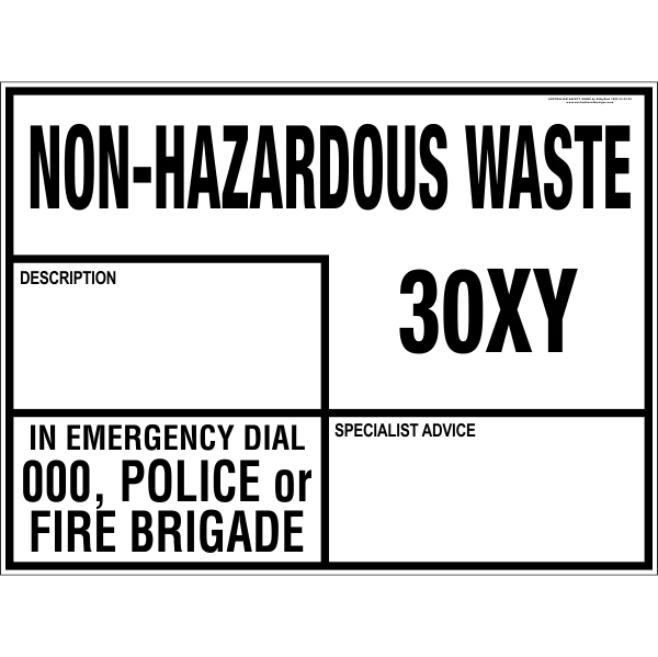 Compatibility Waste Hazardous Chart